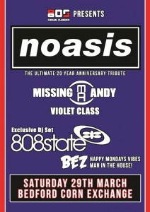 Noasis Missing Andy 808 State Bez