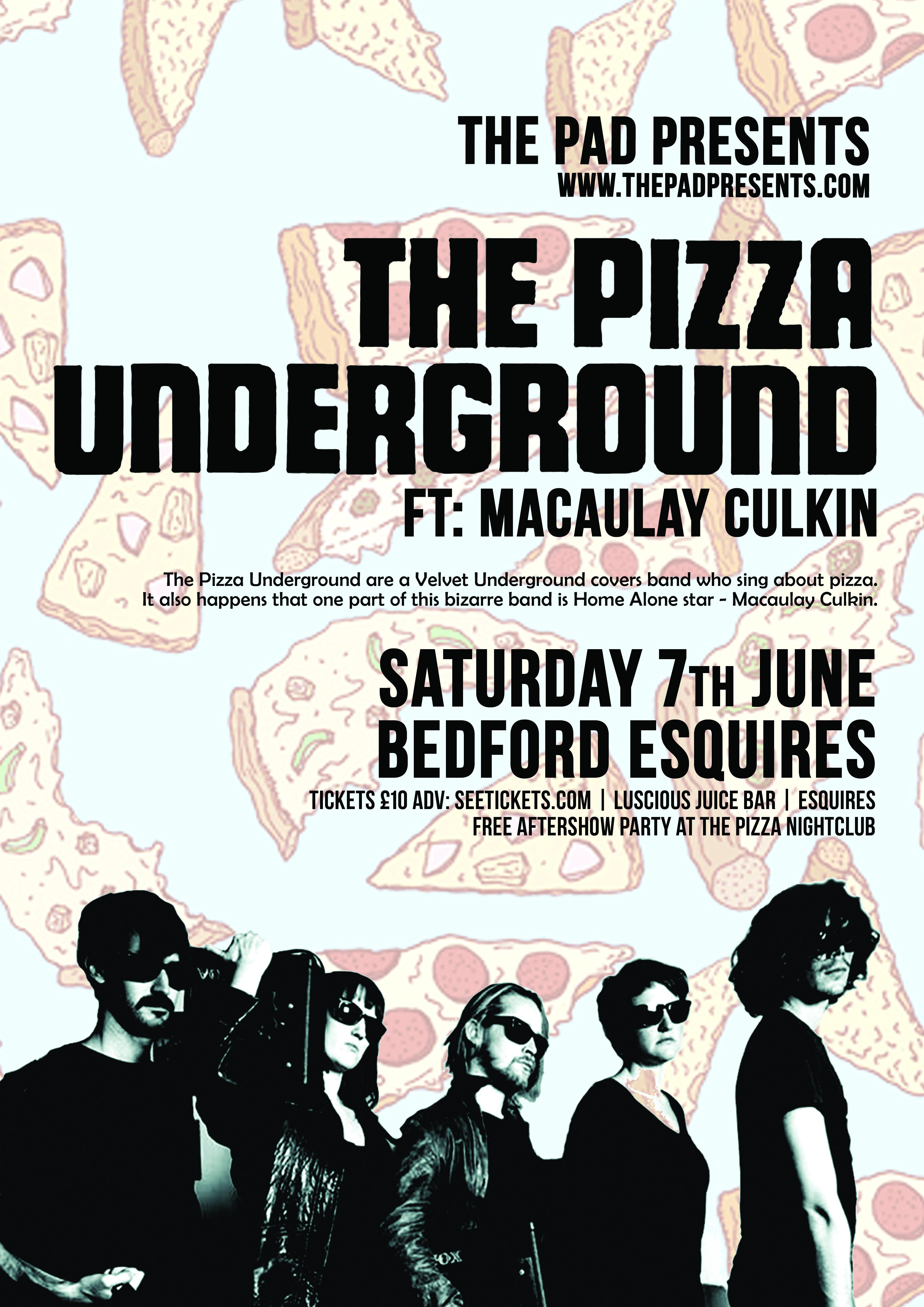 The Pizza Underground Tour Dates