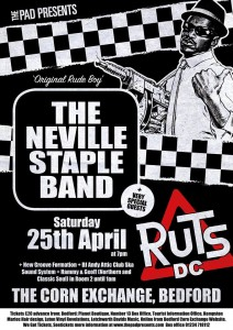 Neville Staple Ruts DC