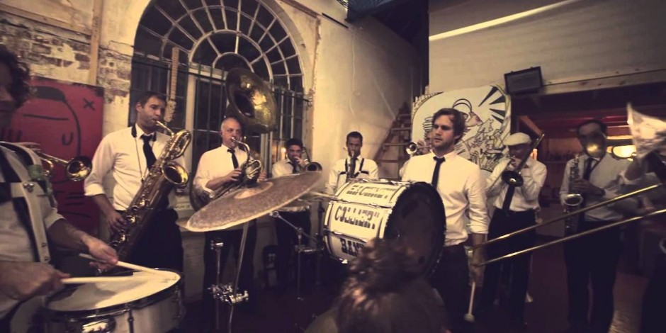 Hackney Colliery Band  – reinventing brass bands for the 21st century