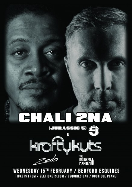 Chali2na & Krafty Kuts Bedford Esquires