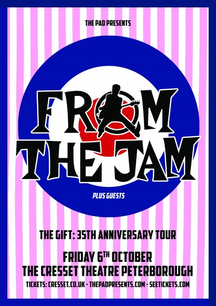 From the Jam Peterborough 6th October