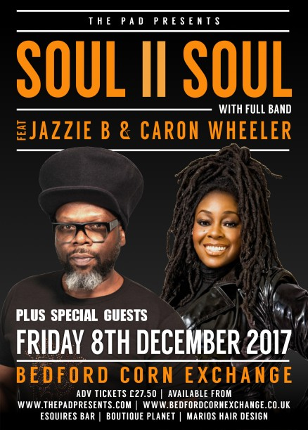 SOUL II SOUL BEDFORD CORN EXCHANGE