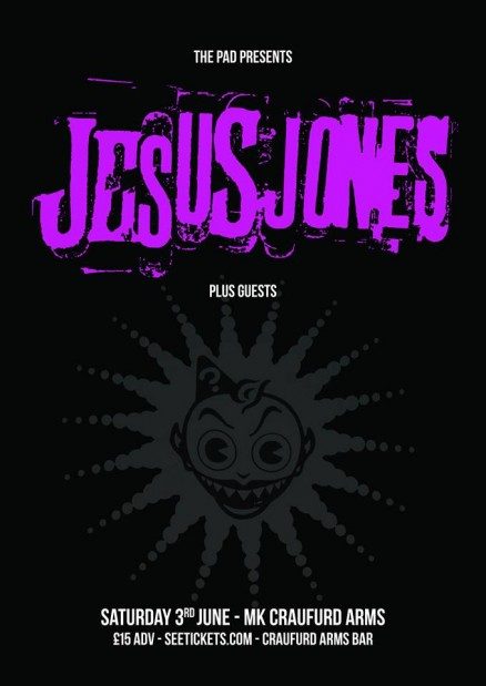Jesus Jones play the Craufurd Arms