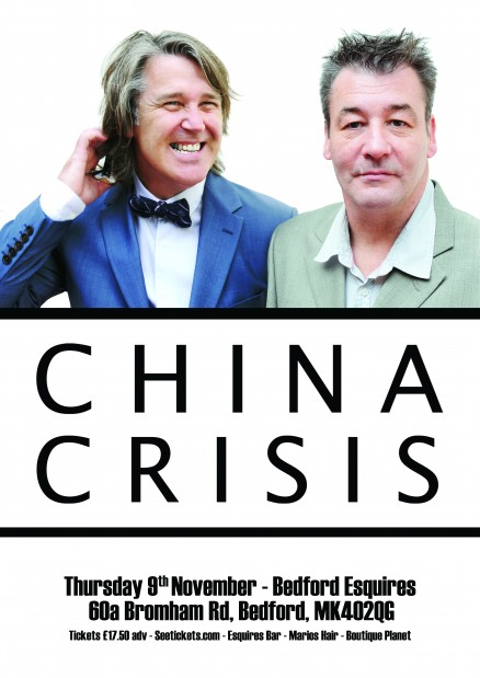 China Crisis Bedford Esquires