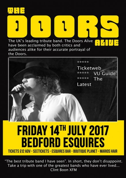 The Doors Alive Bedford Esquires