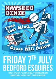 Hayseed Dixie Bedford Esquires