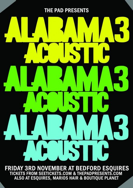 Alabama 3 acoustic show at Bedford Esquires