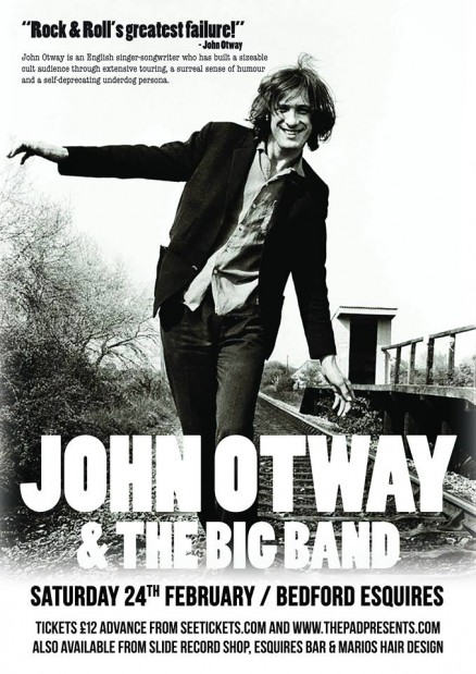 John Otway Big Band Bedford Esquires Saturday 24th February 2018