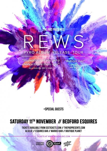 Rews Bedford Esquires Sat 11th November