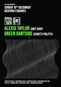 Alexis Taylor & Green Gartside