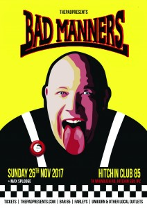 Bad Manners Club 85 Hitchin