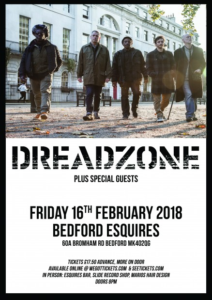 Dreadzone Bedford Esquires 16th February