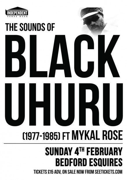 The Sounds of Black Uhuru ft Mykal Rose