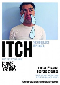 Itch (The King Blues unplugged) + Louise Distras Friday 9th March Bedford Esquires
