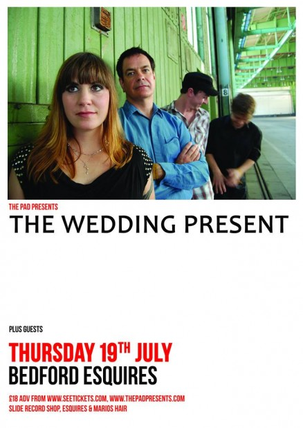The Wedding Present Bedford Esquires