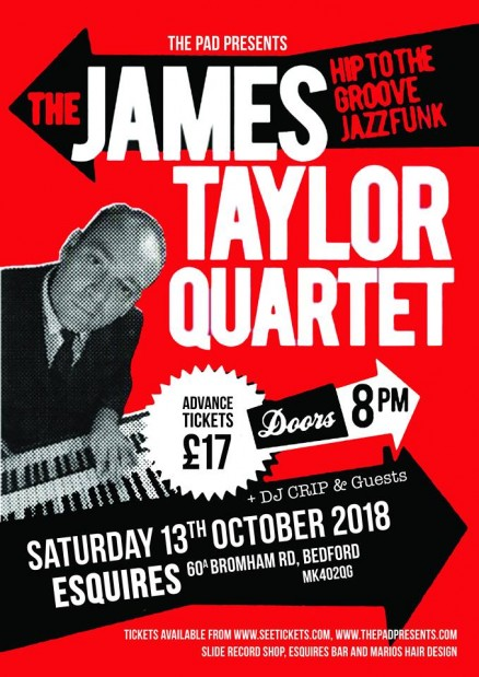 James Taylor Quartet Live at Esquires