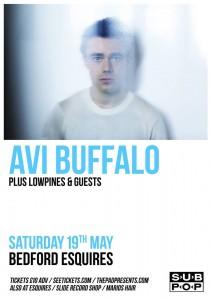 Avi Buffalo live at Bedford Esquires 19th May