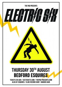 Electric Six Bedford Esquires