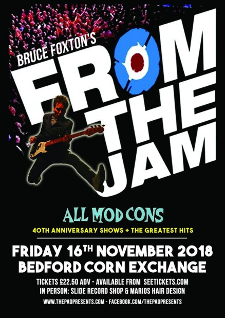 From the Jam All Mod Cons Friday 16th November