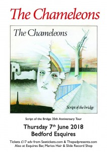The Chameleons live at Bedford Esquires
