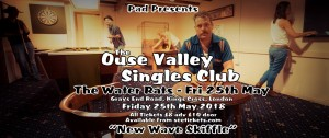 The Ouse Valley Singles Club live at The Water Rats Theatre