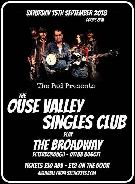 The Ouse Valley Singles Club The Broadway, Peterborough