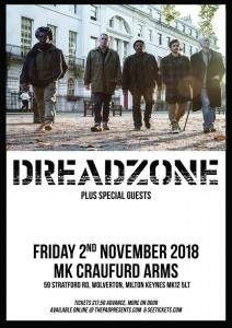 Dreadzone Craufurd Arms Friday 2nd November