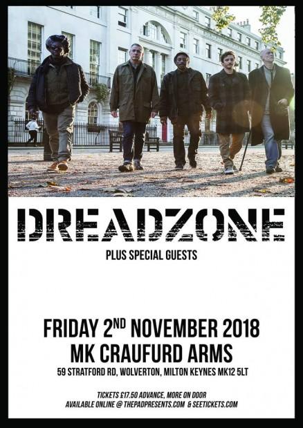 Dreadzone Craufurd Arms Friday 2nd November