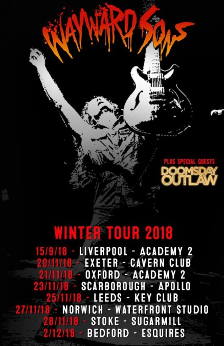 Wayward Sons Bedford Esquires 2nd December