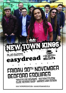 New Town Kings Bedford Esquires Friday 30th November
