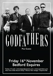 The Godfathers Bedford Esquires Friday 16th November