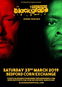 Black Grape Saturday 23rd March Bedford Corn Exchange