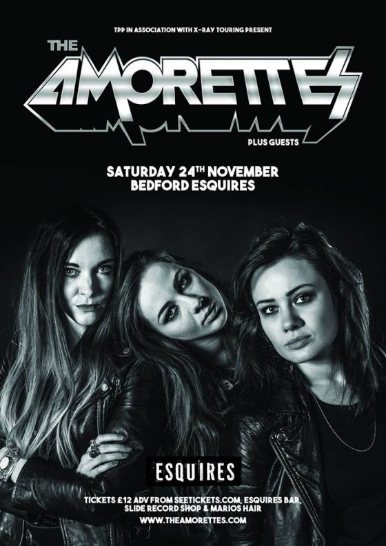 The Amorettes Bedford Esquires Sat 24th November