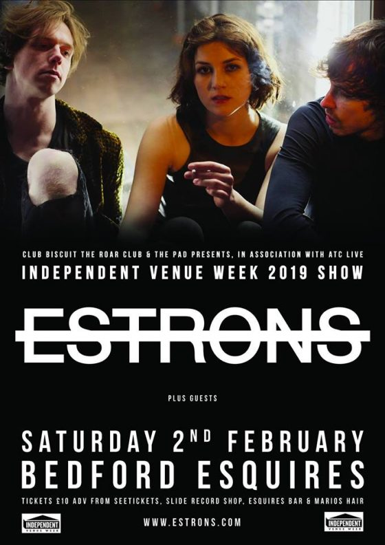 Estrons Bedford Esquires Saturday 2nd February
