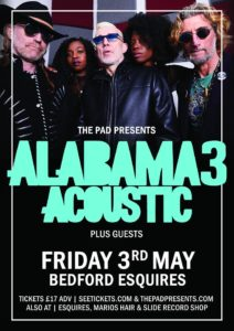 Alabama 3 acoustic live at Bedford Esquires 3rd May