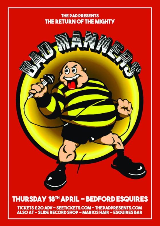 Bad Manners Bedford Esquires Thursday 18th April