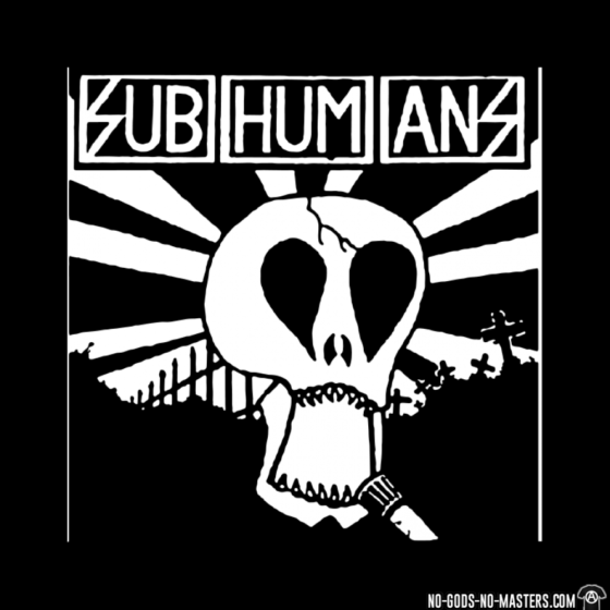 Subhumans Bedford Esquires Sunday 14th April