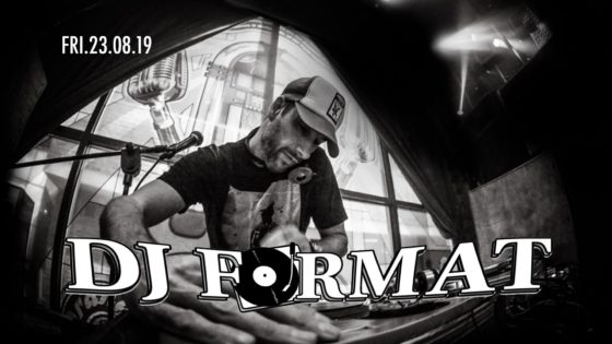 DJ Format Bedford Esquires Friday 23rd August