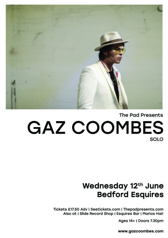 Gaz Coombes Bedford Esquires