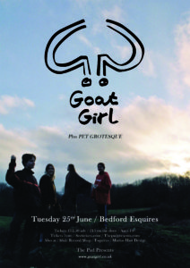 Goat Girl Tuesday 25th June Esquires