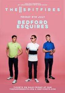 The Spitfires Bedford Esquires Friday 5th July