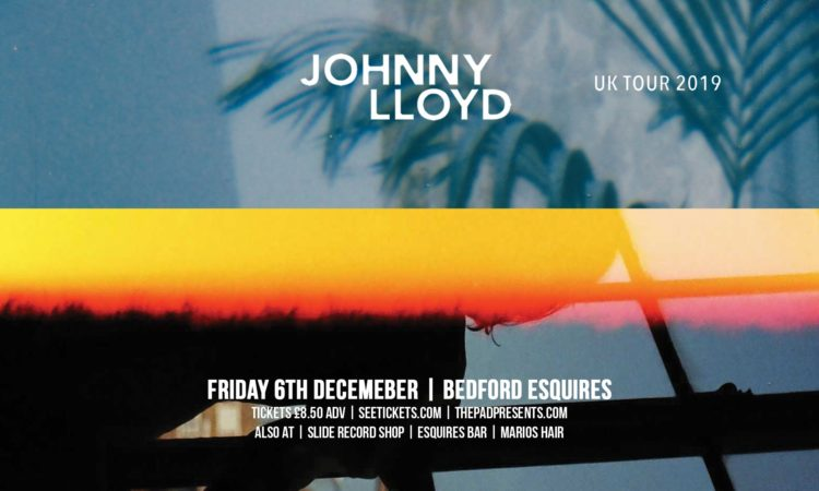 Johnny Lloyd Bedford Esquires Friday 6th December