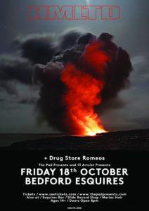 HMLTD Friday 18th October Bedford Esquires