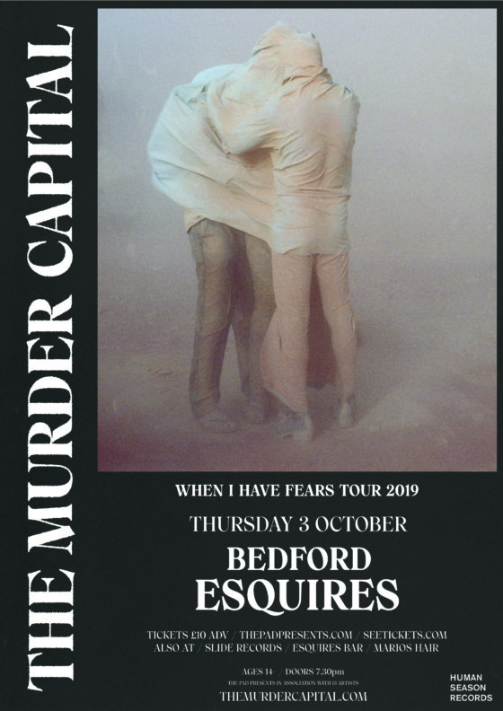 The Murder Capital Bedford Esquires Thursday 3rd October