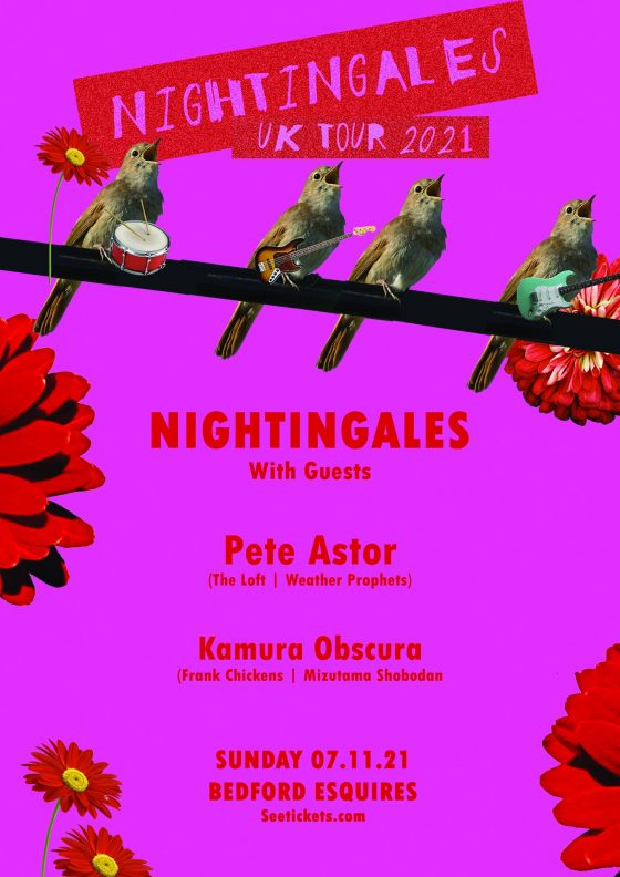 The Nightingales Bedford Esquires Sunday 7th November