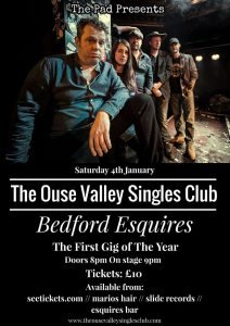 The Ouse Valley Singles Club Sat 4th January