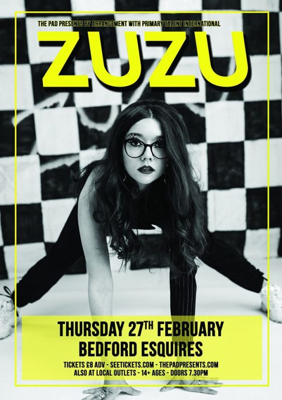 Zuzu Bedford Esquires 27th February