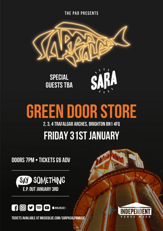 Sarpa Salpa Green Door Store Brighton