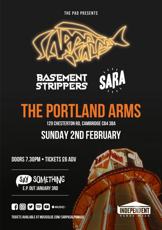 Sarpa Salpa Portland Arms Cambridge
